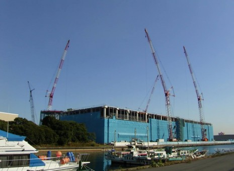 construction-example ヤマト運輸株式会社 神奈川物流ターミナル