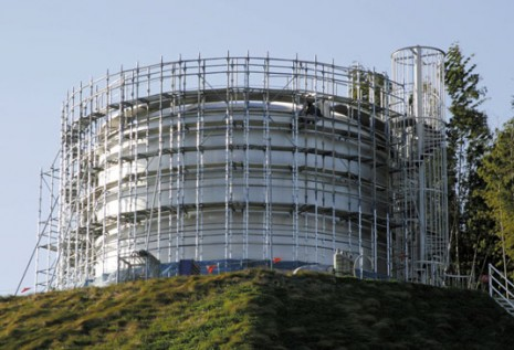 construction-example 三重県桑名市貯水タンク